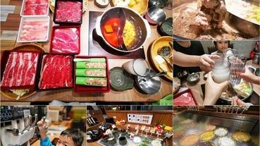 宜蘭市 涮乃葉syabu-yo日式涮涮鍋吃到飽 新月廣場蘭城店-壽喜燒火鍋推薦 肉片蔬菜甜點Buffet無限量供應