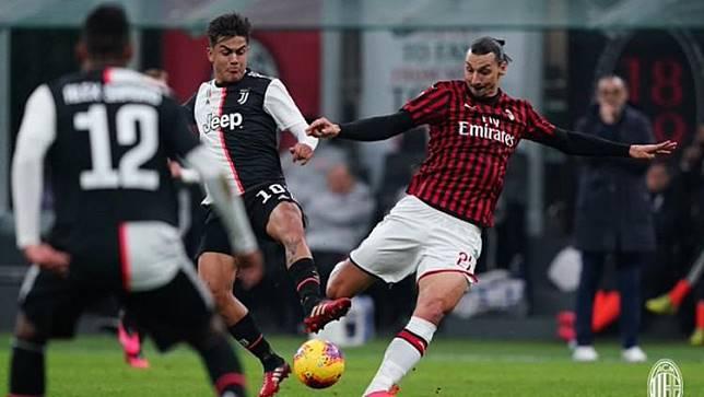 Hasil Pertandingan Coppa Italia AC Milan vs Juventus: Ronaldo Rampok Kemenangan Rossoneri
