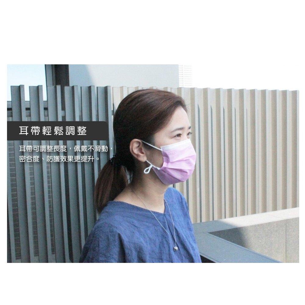 飛速AOK醫用平面口罩(50入裝) 台灣製造 防塵 調節扣(健康城)
