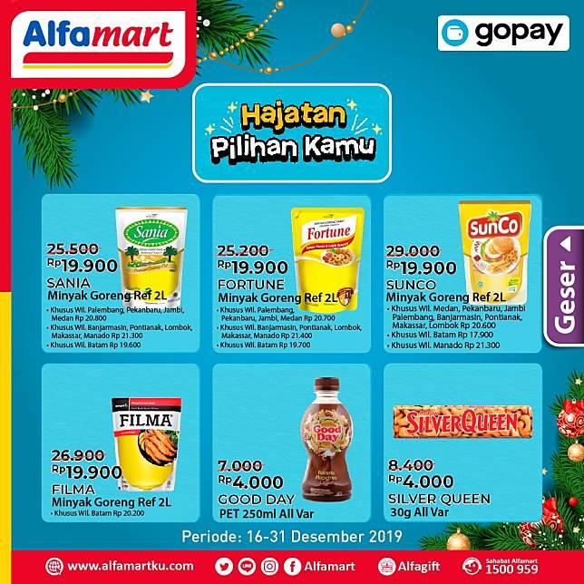 Promo Hajatan Alfamart Pakai Gopay Alfamart Line Today