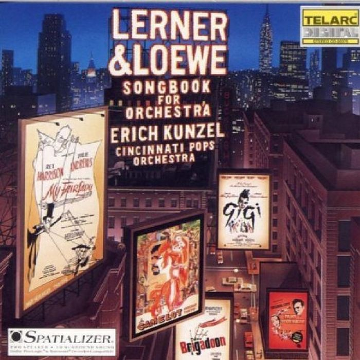 百老匯音樂精選 Lerner and Loewe Songbook for Orchestra 80375