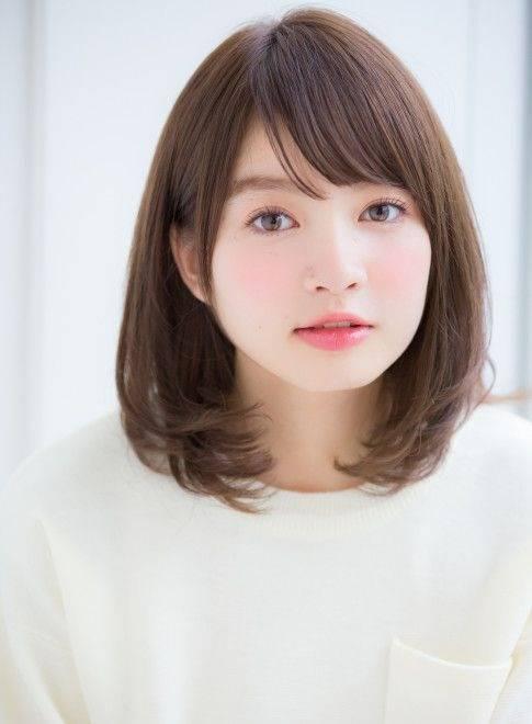 8 Model Poni Korea Untuk Wajah Bulat Yang Bikin Pangling Womantalk Com Line Today