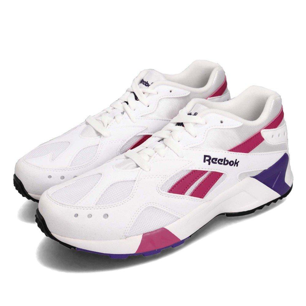 REEBOK 休閒鞋 AZTREK 低筒 運動 男鞋 經典款 復古 球鞋 穿搭 反光 舒適 白 粉 [CN7841]