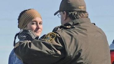 Facebook 全程直播-《分歧者》女星 Shailene Woodley 參與環保抗議被捕!