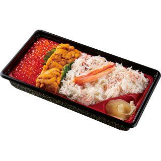 豪華海鮮飯(いくら・うに・かに) 1パック