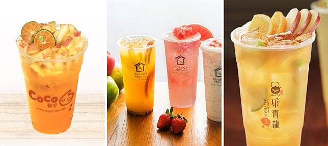 「一芳兩制」一果兩汁?台灣20大爆好喝水果茶 它超越一芳拿冠軍