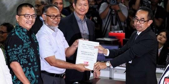 BPN laporkan gugatan kecurangan pemilu ke MK. ©Liputan6.com/Angga Yuniar