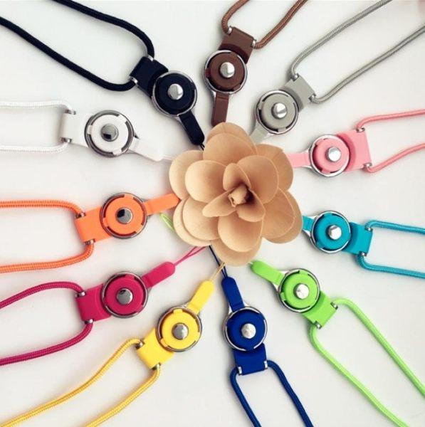 2合1手機長掛繩【NF624】可拆卸掛繩旋轉扣 兩用 吊飾 工作證掛繩 鑰匙圈 相機掛繩 手機掛繩