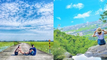 水嘎阿捏!俯瞰蘭陽平原的天空之橋、宜蘭版伯朗大道 網友:絕對要去拍個夠...