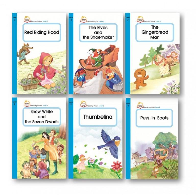 最佳經典故事題材,結合生活化字彙,邊聽、邊讀樂趣多,一同度過親子共讀、孩子成長的快樂時光,音樂劇型式呈現,還可滿足您家小孩表演欲!ReadingHouseLevel2故事情節的變化性增加,亦融入了更多