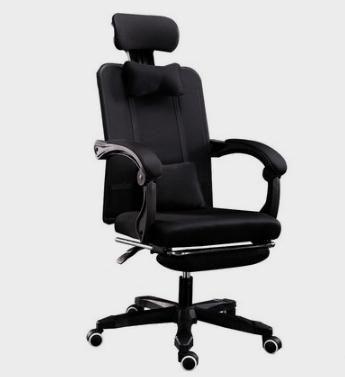 辦公室椅子電腦椅家用可躺椅子現代簡約懶人靠背辦公室宿舍升降旋轉游戲座椅JD 美物居家