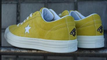 細節爆萌!Converse x GOLF LE FLEUR One Star 搶先曝光!