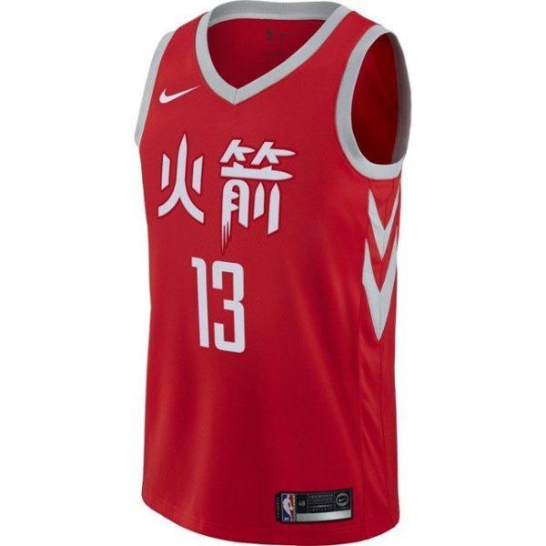 ▶NIKE NBA CITY 球衣 休士頓火箭 JAMES HARDEN #13 912104-657