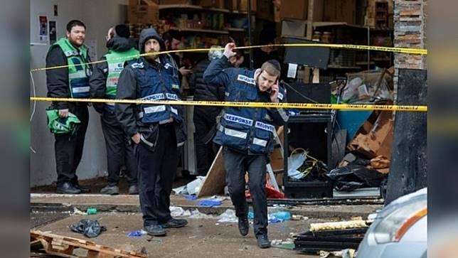 ตำรวจสหรัฐฯ ระบุ 2 คนร้ายเจตนาก่อเหตุที่ซูเปอร์มาร์เก็ตชาวยิวในนิวเจอร์ซี