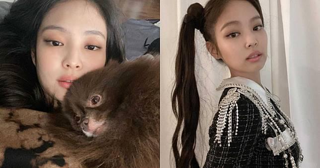 BLACKPINK Jennie慵懶貓眼妝學起來!咖啡色眼影+黑色眼線+裸粉唇這樣畫就對了!