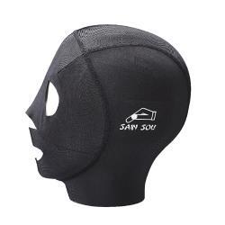 SAIN SOU運動游泳專用防曬面罩-A181