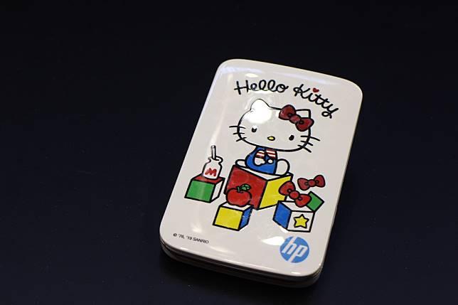 HP還有香港限定的Hello Kitty相片便攜打印機發售。