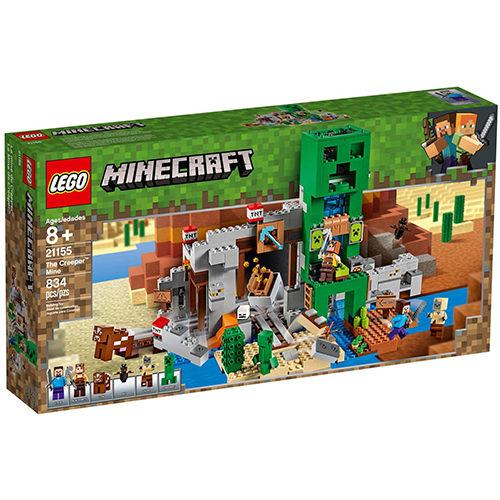 樂高積木 LEGO 2019《 LT21155 》Minecraft 系列 - The Creeper? Mine╭★ JOYBUS玩具百貨