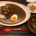 牛トロ肉のせビーフカレー - 実際訪問したユーザーが直接撮影して投稿した西新宿懐石料理・割烹割烹 田一の写真のメニュー情報