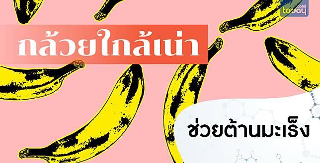นักวิจัยชาวญี่ปุ่นแนะนำให้กินกล้วยที่สุกจนเปลือกคล้ำ เพราะช่วยต้านมะเร็งได้