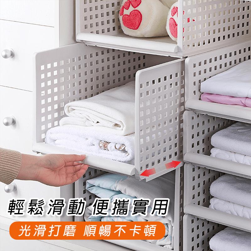 木暉 加高抽取式疊加收納架,可自由疊加的分層抽屜式設計,衣物好分類,拿放更快速,美觀不凌亂~ 加高加深,承重佳,穩固耐用~ 光滑打磨,輕鬆滑動,順暢不卡卡~ 可利用居家縫隙處,不浪費空間,無論是在衣櫥、客廳、廚房擺放都適合唷~