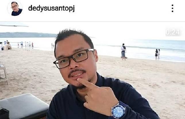 Bantah Hapus Foto, Dedy Susanto: Akun Saya Dilaporkan