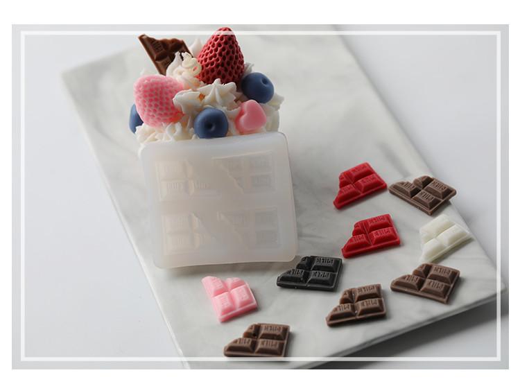 蠟燭模具 巧克力蠟燭模具 mj10 蛋糕淋面裱花蠟燭裝飾香薰蠟燭diy