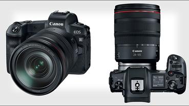 Canon EOS R5 新機規格曝光!配備 4,500 萬像素、支援 8K 攝錄與 20fps 連拍速度