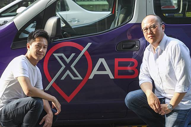 The duo behind Hong Kong's purple XAB taxis hoping to revamp a notorious industry
