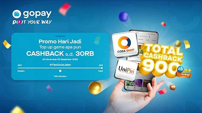 Nikmati Promo Akhir Tahun Gopay Dapatkan Cashback Hingga Rp900 000 Esports Id Line Today