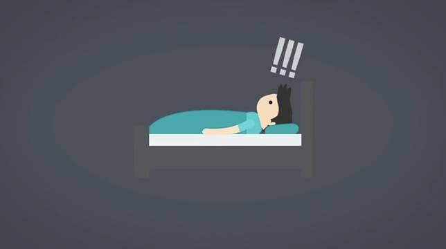Nyatanya, dalam tidur pun ngga bisa berlari dari kenyataan. Mikirin utang tak ujung usai, atau mikirin hal lainnya yang bikin kepala pusing. Bisa bikin kita ngerasain terjatuh juga. Dalam sadar sudah terjatuh, bahkan pas tidur pun juga. Kasian!
