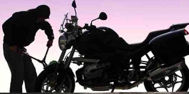 Ilustrasi pencurian sepeda motor (Pixabay.com)