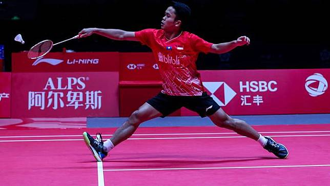 Tunggal putra Indonesia, Anthony Ginting.