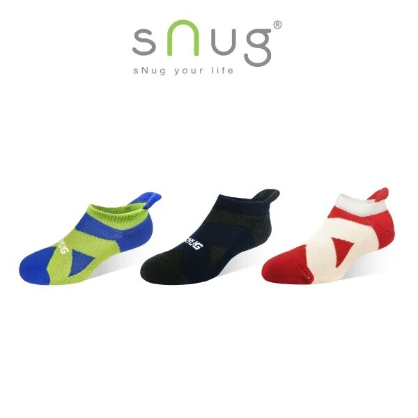 snug運動繃帶 船襪 (除臭襪/短襪)