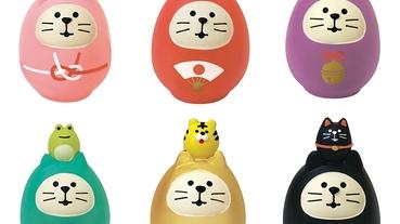 達摩點睛健康開運 體驗日本新年祈福 開運小物讓您健康納福一整年