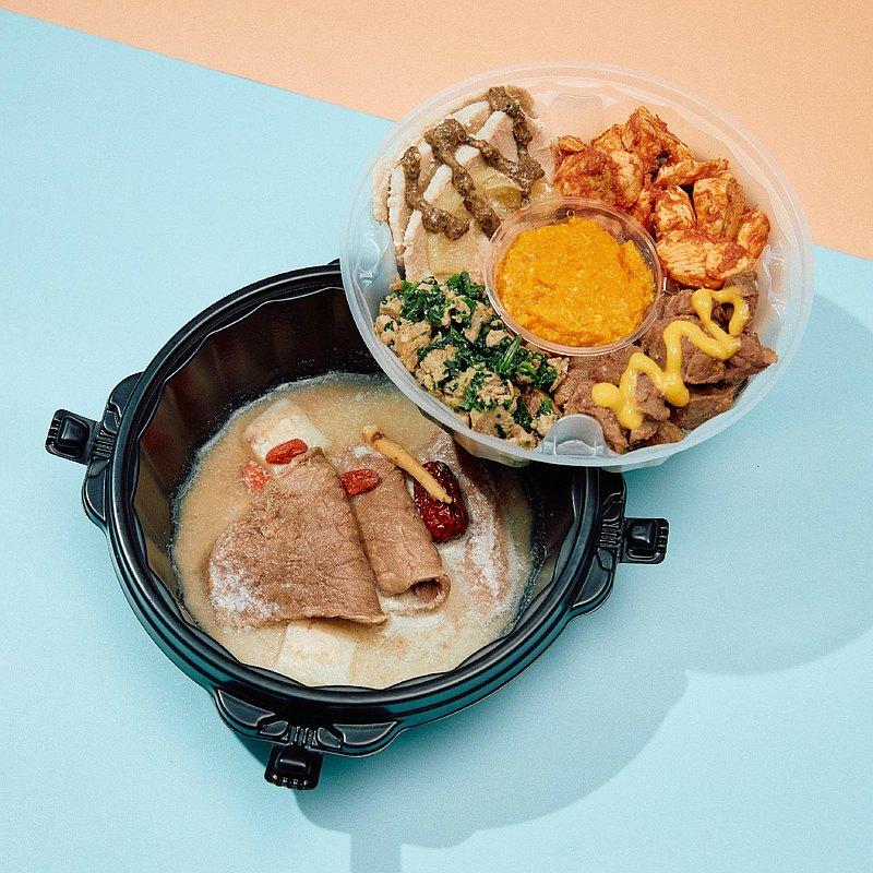 【CoCo中秋TO GO料理 】五色烤肉雙拼餐盒【毛孩賞月必備】