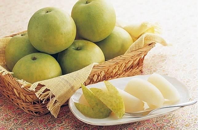 日本鳥取縣特產的二十世紀梨,可以說是水晶梨中的代表。(互聯網)