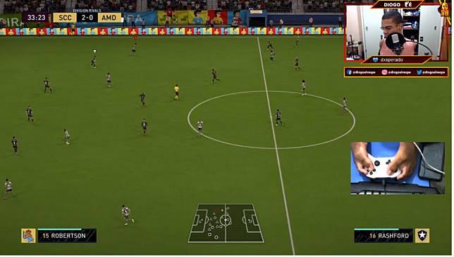 พบกับ diogoalvespe เกมเมอร์พิการ ผู้ใช้เท้าแทนมือเล่น FIFA ได้ระดับเทพ