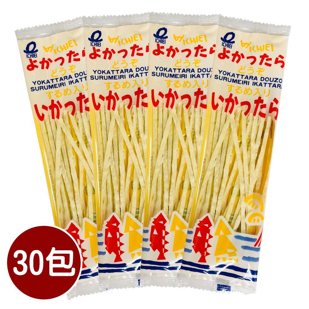日本 一榮食品 魷魚鱈魚香絲 180g / 30包入 魷魚絲 鱈魚絲 進口零食 零嘴 解饞
