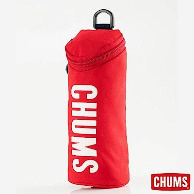 CHUMS 日本 Eco 圓筒收納袋筆袋 紅