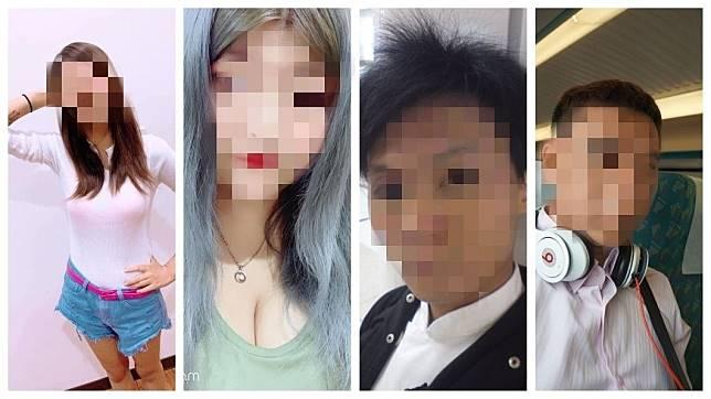 涉嫌虐死2歲女童的生母等4人,引發民眾群情激憤。(圖/合成圖,翻攝自臉書)