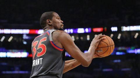 Bintang NBA Kevin Durant Positif Corona