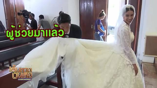 ชุดงานแต่งของ เกรซ พัชร์สิตา ในละคร เจ้าสาวแก้ขัด ใหญ่แบบอลังการงานสร้าง | เฮฮาหลังจอ