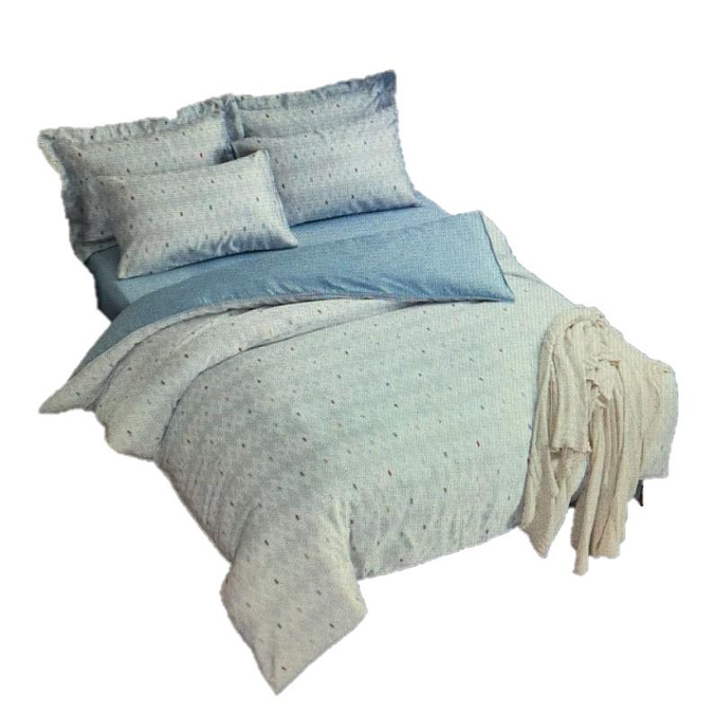 商品敍述100% TENCEL 300 織表布,絲柔滑順 觸感細緻。天然纖維,自然環保,減少細菌生長不含化學藥劑,透氣乾爽保持舒適睡眠環境。網站顯示照片會趨近真實商品,但照片顏色可能會因拍照光線誤差或