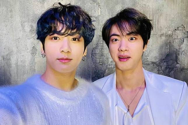 Jin BTS bongkar aib dirinya sendiri dan Jungkook.