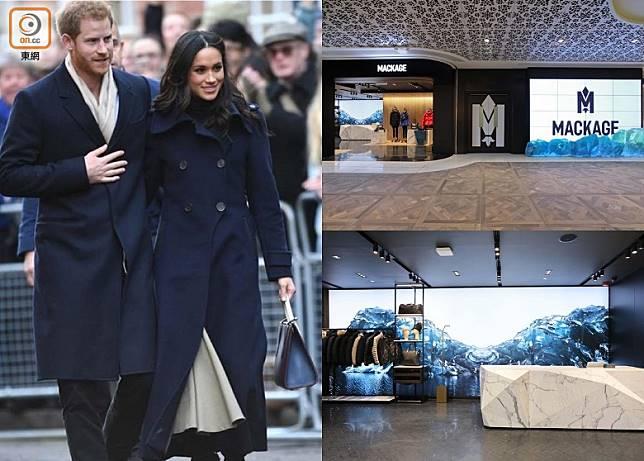 加拿大高級時裝品牌MACKAGE在K-11 MUSEA開設亞洲旗艦店,店舖加入寒天雪地及海水的設計概念。(互聯網)