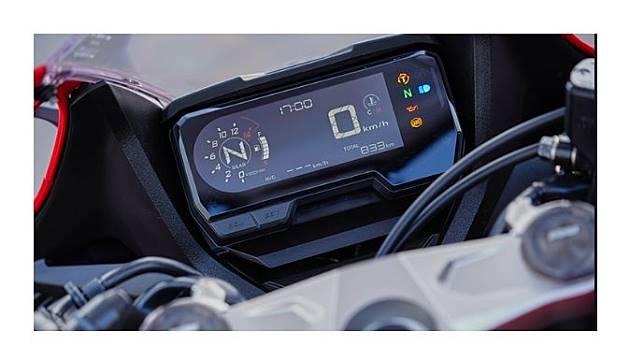Panel instrumen milik Honda CBR650R