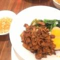 ルーロー飯 - 実際訪問したユーザーが直接撮影して投稿した西新宿カフェ騒豆花 新宿ミロード店の写真のメニュー情報