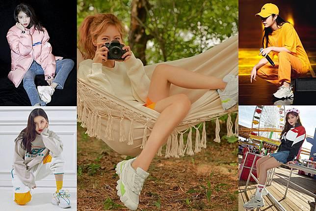 老爹鞋風潮不退,跟著女星這樣搭出纖細大長腿,踩出舒適時尚感|穿搭推薦