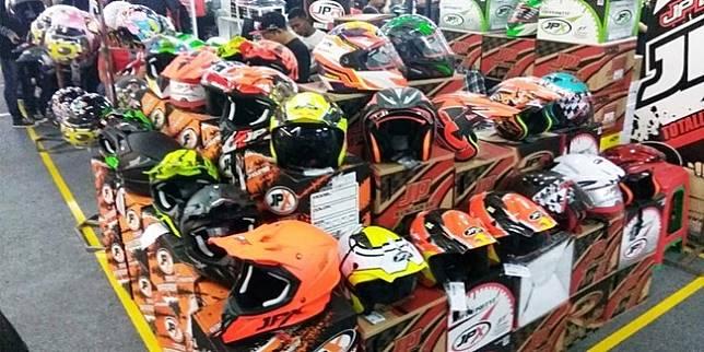 Jakarta Helmet Exhibition (Istimewa)